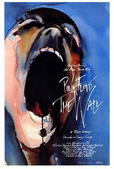 PINK FLOYD THE WALL MOVIE POSTER 27x40 inches Roger Waters 1982 RARE OOP SCREAM (Click image to Buy)