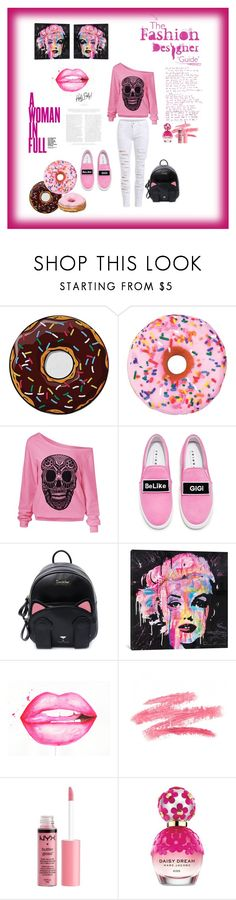 """""""Untitled #43"""" by mirela-osmanovic ❤ liked on Polyvore featuring Round Towel Co., Iscream, Joshua's, iCanvas, Charlotte Russe and Marc Jacobs"""