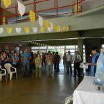 Con la visita de la Virgen del Valle al Centro de Formación Profesional inició la preparación de las fiestas marianas