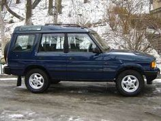 Land Rover Discovery. Like a tractor, went anywhere. 1998-1999.