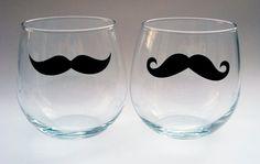 Para beber con bigote!