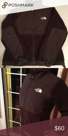 Brown Denali North Face Jacket Gently used, brown, XS Denali North Face jacket. The material is fleece. No holes, tears or pilling. All buttons intact and the zipper still even has the zipper pull. The only thing I would say is that the fleece isn't as soft as it used to be but it's still very soft. The North Face Jackets & Coats