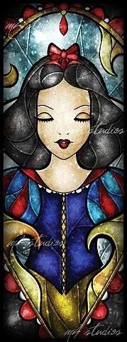 Stain Glass - Snow White.