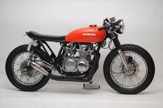 Custom Honda CB500 Cafe Brat by Steel bent Customs - Moto Rivista