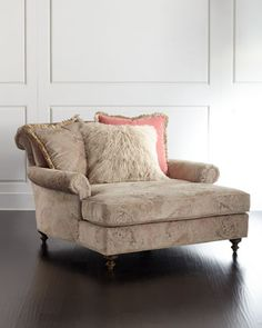Heathridge Chaise by Massoud at Horchow.