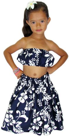 Super cute matching Hawaiian dresses for girls and women. Perfect ...