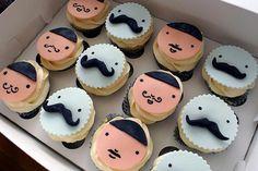 cupcakes bigotes