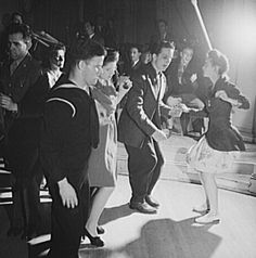 Find everything you need here to throw a great 1940s theme party including invitation ideas, music, food and activities. Listen to some Big Band music and learn how to swing dance.
