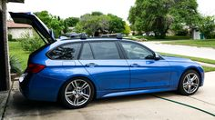 10 Awesome Reddit BMW Wagons No. 7: This F31 328i M-sport wagon is business in the front and party in the back! http://www.eurosporttuning.com/bmw.html