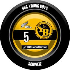 DNZ Football Buttons: BSC Young Boys