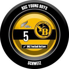 DNZ Football Buttons: BSC Young Boys