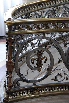 Fleur Di Lys detail, Chantilly France by p'titesmith12, via Flickr