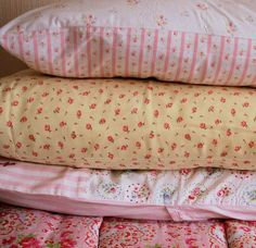 Pretty pillow cases