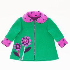 The Gigi Coat in Kelley Green from #TuffKookooshka SOOOOO sweet! $78