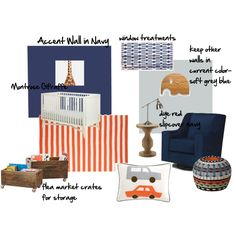 baby boy's nursery idea board!   #nursery, #baby boy