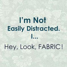 Fabric! Sewing humor
