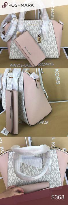 585f921e747070 🎆⭐️mk Satchel set⭐️Ciara/crossbody/large size Both bag and wallet