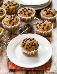 Pumpkin chocolate chip cupcakes #weddingcupcakes #diywedding #autumn #pumpkin #cupcakes