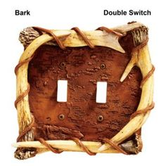 Big Sky Carvers Wood and Antler Toggle Switch Plates or Electrical Outlet Covers | Bass Pro Shops