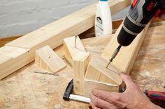 Holzpferd selber bauen: So geht's   selbermachen.de Planer, Diy, Wooden Toys, Projects, Diy Crafts Home, Diy Tutorial, Horse Head, Bricolage, Do It Yourself