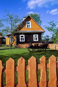 A place to stay in Białowieża National Park.