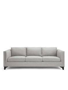 because rooms should be mix-and-match affairs of hand-curated pieces acquired from travels near and far--plus pretty forever pieces, like this clean, classic, and so-comfortable sofa (a perfect place for curling up with your favorite well-worn book).