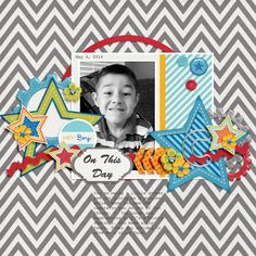 Everyday Life: It's A Boy Thing   Collection by Tickled Pink Studio and Designs by Megan Turnidge http://scraporchard.com/market/Every...ollection.html Fuss Free: Birds of a Feather by Fiddle-Dee-Dee Designs http://scraporchard.com/market/Fuss-...Scrapbook.html Layout by mrsashbaugh