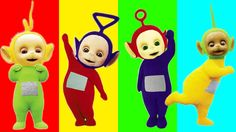 Learn Colors with Wrong Heads Teletubbies Toys For Children, Toddlers an...