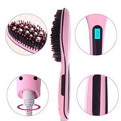 I keep seeing this and wonder how well it really works. It looks like such a time saver! Want to save this link for later. Straightening Detangling Heated Hair Brush