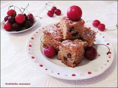 Prăjitură cu dulceață de cireșe