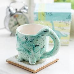 Dinosaur Mug, Matching Gifts, How To Make Breakfast, Ceramic Planters, Cupping Set, T Rex, Highlight, Scary, Unique Gifts