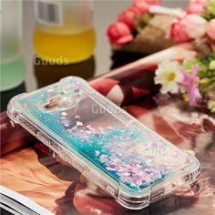 35676e805ab Dynamic Liquid Glitter Sand Quicksand TPU Case for Samsung Galaxy J3 2016  J320 - Green Love Heart