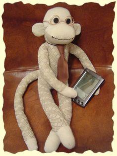Sock Monkey Fun! LEah says this looks like dad!
