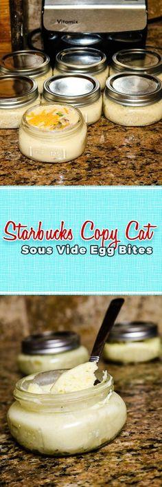 Starbucks Copy Cat Sous Vide Egg Bites