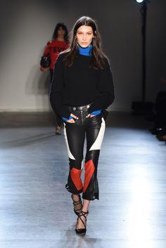 Bella Hadid Is the Runway Queen of Fall 2017 Fashion Week Photos   W Magazine