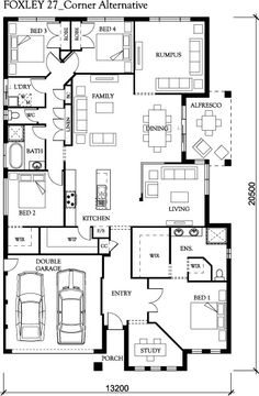 Idea of a floor plan edenbrae.com.au