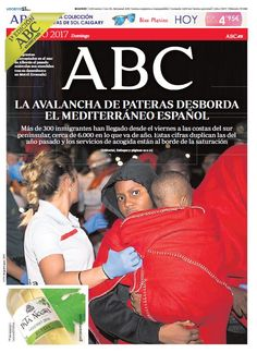 La portada de ABC del domingo 25 de junio