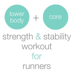 2 Awesome Strength & Stability Workouts for Runners - According to Elle