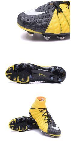 5dcc7c2ff880 News Nike Hypervenom Phantom 3 DF FG Boots Yellow Black Nike Soccer Shoes