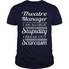 THEATRE MANAGER T-SHIRTS T-SHIRTS, HOODIES  ==►►Click To Order Shirt Now #Jobfashion #jobs #Jobtshirt #Jobshirt #careershirt #careertshirt #SunfrogTshirts #Sunfrogshirts #shirts #tshirt #hoodie #sweatshirt #fashion #style