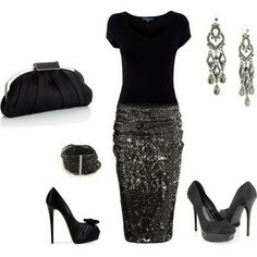 """Love this outfit for the holidays... Shoes are awesome, but a little too high for me... I would be about 6'3"""" in these!"""