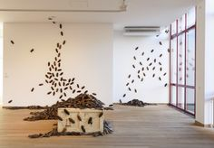Bita Fayyazi, Cockroaches, 1998-1999, photo: Peter Cox