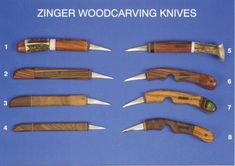 woodcarving knives | Woodcarving Rendezvous - Knives