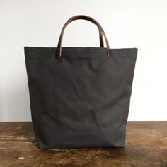 XLarge Gray Tote Bag   Jenneng Studio