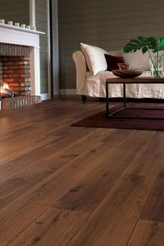Quick-Step Perspective 'Vintage Oak Dark Varnished' Laminate Flooring The Quick-Step Perspective Range has a destictive 'bevelled' edge. Giving a depth and quality appearance to a highly durable laminate flooring. Flooring, Oak Laminate Flooring, Room Flooring, Kitchen Flooring, Hardwood Floors, Living Room Flooring, Wooden Flooring, Light Oak