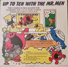 Arthur Lowe Stories Told By Roy Castle Mr Men Song By Hamish MacDonald Words And Stories By Ian Pearce - Up To Ten With The Mr. Men (Vinyl) at Discogs