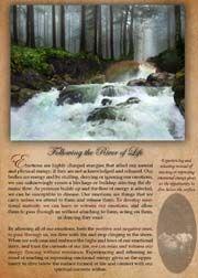 """ Following The River Of Life ""  Art & Script"
