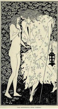 Aubrey Beardsley (1909)  The Mysterious Rose Garden