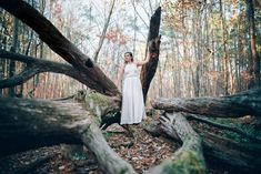 North Carolina Wedding Photographer - Raleigh Wedding Photographer - Bridal Portraits in the Woods - Umstead Park Bridal Portraits - Forest Bridal Portraits Bridal Poses, Bridal Photoshoot, Bridal Portraits, Autumn Photography, Bridal Photography, Portrait Photography, Photography Ideas, Disney Bridal Showers, Blue Bridesmaids