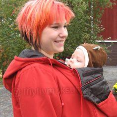 Maijat carry-a-baby-jacket